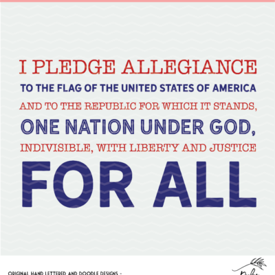 Pledge of Allegiance Digital Design