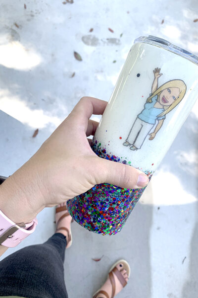 Waterslide Paper for Glitter Tumblers – How to Apply Waterslide Decals