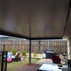 Solar Span insulated patio roof