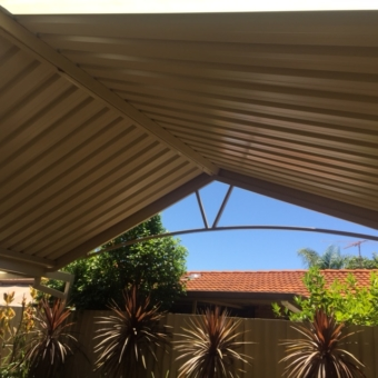 Gable patio Leeming