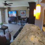 Unit 3 - Birdseye View of Living Room