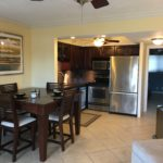 Unit 14 - Dining table and Kitchen