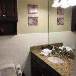 Unit 14 - Updated bathroom with granite countertops