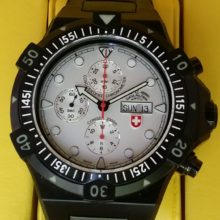 Conger Nero Chronograph Automatic Wristwatch