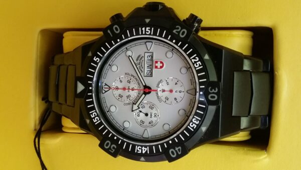Conger Nero Chronograph Automatic Wristwatch