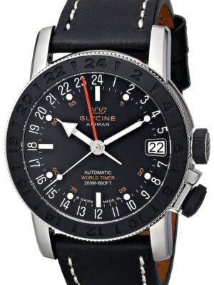 Glycine Airman Worldtimer Watch