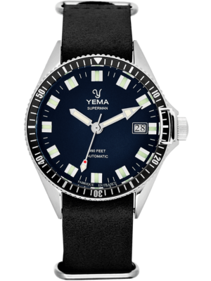 YEMA Superman 300m: House Movement, Mysterious Blue Dial