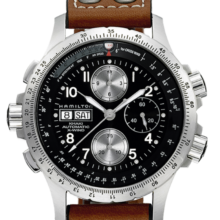 Hamilton Men's H77616533 Khaki X Chronograph Watch