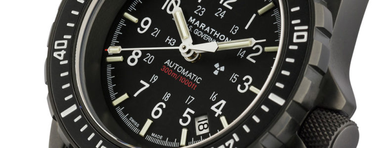 New Marathon black GSAR dive watch