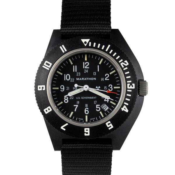 New Marathon Navigator Watch with sapphire crystal