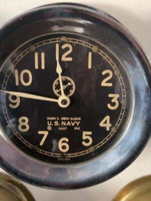 U.S. Navy Chelsea clock