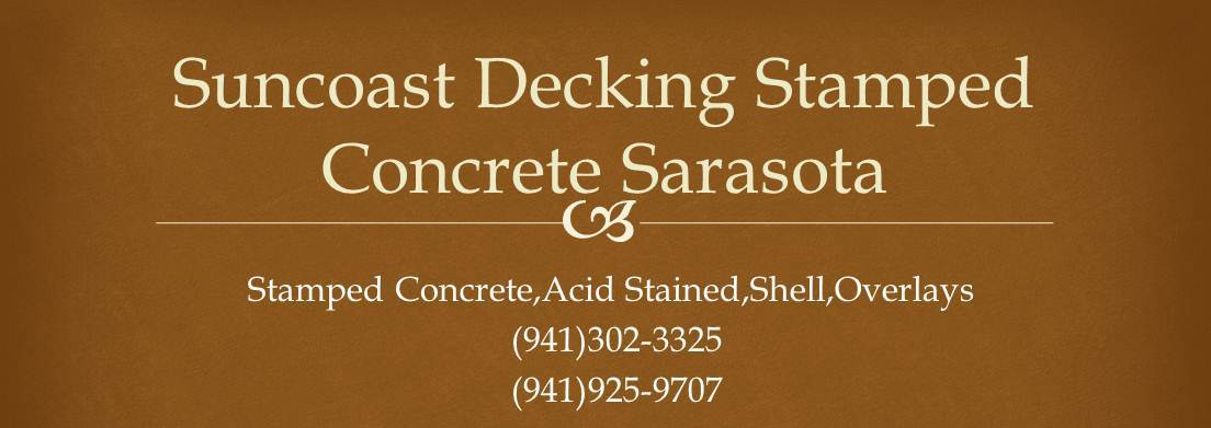 Stamped Concrete Sarasota