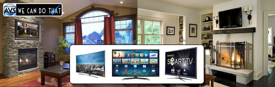 TV Installation Charlottesville VA, Virginia