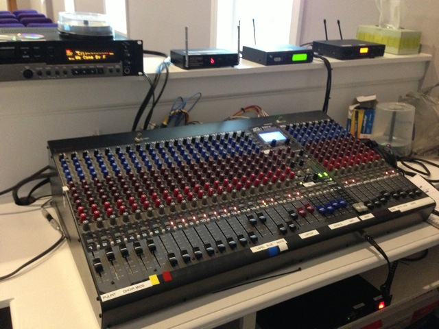 Audio Visual System for Small Historical Church
