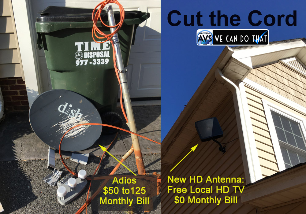 HD Antenna Albemarle Greene County, Charlottesville VA Virginia
