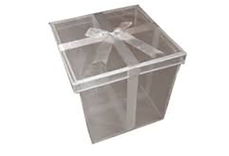 organza release container