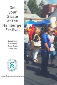 Get your Sizzle at the Hamburger Festival