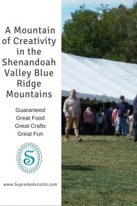 A Mountain of Creativity in the Shenandoah Valley Blue Ridge Mountains Cover