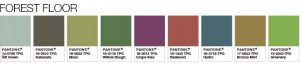 Pantone-Color-of-the-Year-2017-Color-Palette-Earthly Tones Photo provided by Pantone