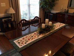 oHw to decorate with table runners