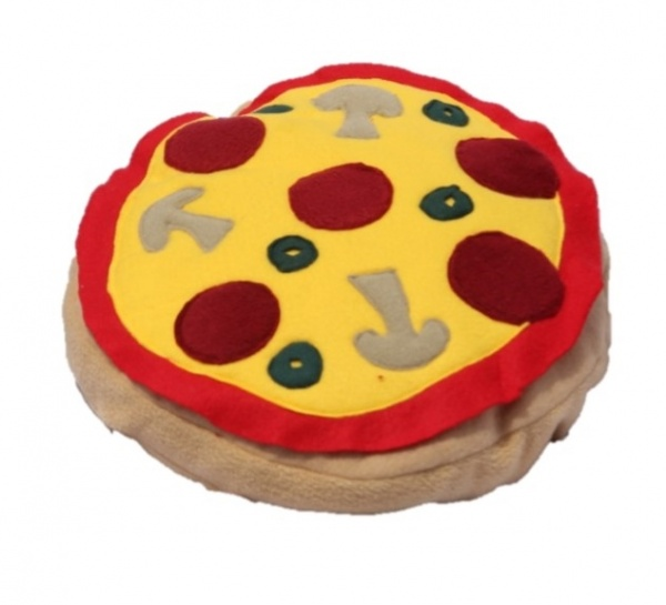 Supreme Accents Handmade Pizza Pillow