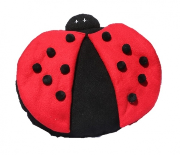 Supreme Accents Lolly Lady Bug Pillow