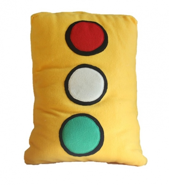 Supreme Accents Traffic Light Pillow