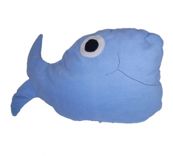 Supreme Accents Willie Whale Pillow