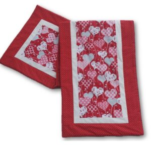 All my Hearts Handmade Valentine's Day Table Runner