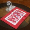 Supreme Accents Enjoy Valentines Day Table Runner
