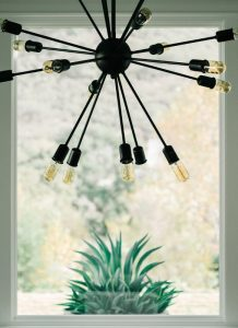 Update your living room with lighting