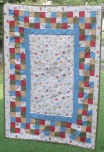 Supreme Accents Baker's Dozen Handmade Baby Quilt