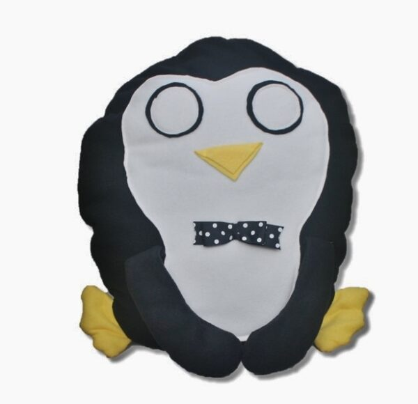 Peter Penguin Handmade Pillow