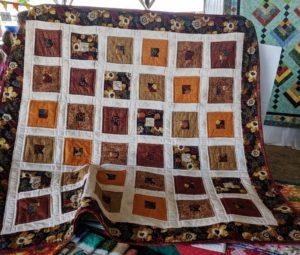 Inside Blocks Handmade Quilt