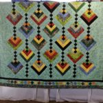 Night Lanterns Handmade Quilt