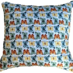 Supreme Accents Butterfly Throw Pillow