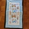 Supreme Accents Whispering Butterfly Table Runner Blue