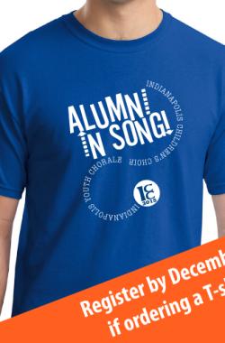 Alumni In Song T-shirt Design Announced