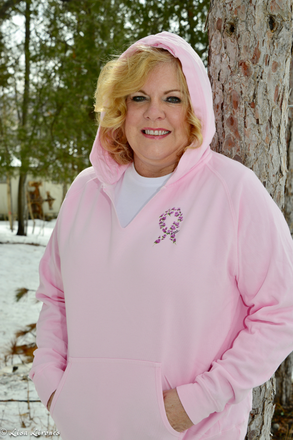 Antrim County High Tea for Breast Cancer Prevention pink pullover hoodie