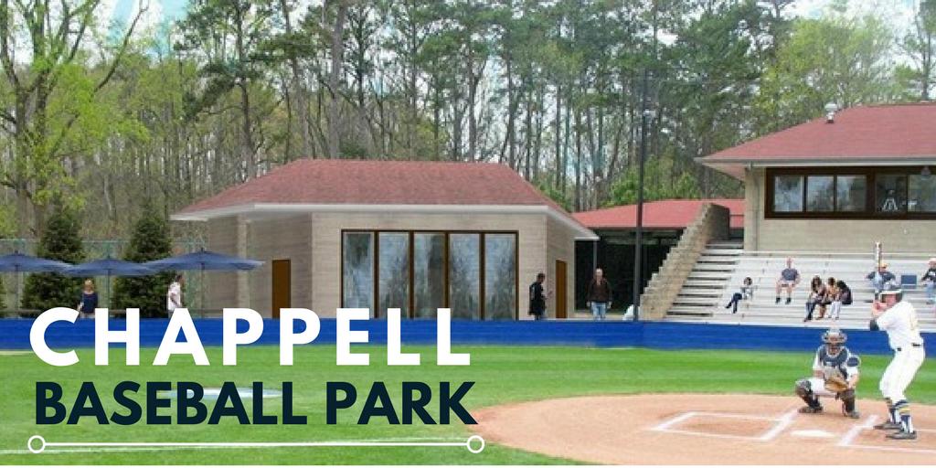 Chappell Baseball Park Construction | Higher Education Addition | Cooper & Company General Contractors | Atlanta, GA