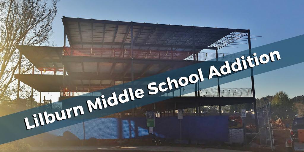 Lilburn Middle School Addition   Cooper & Company General Contractors   Lilburn, GA