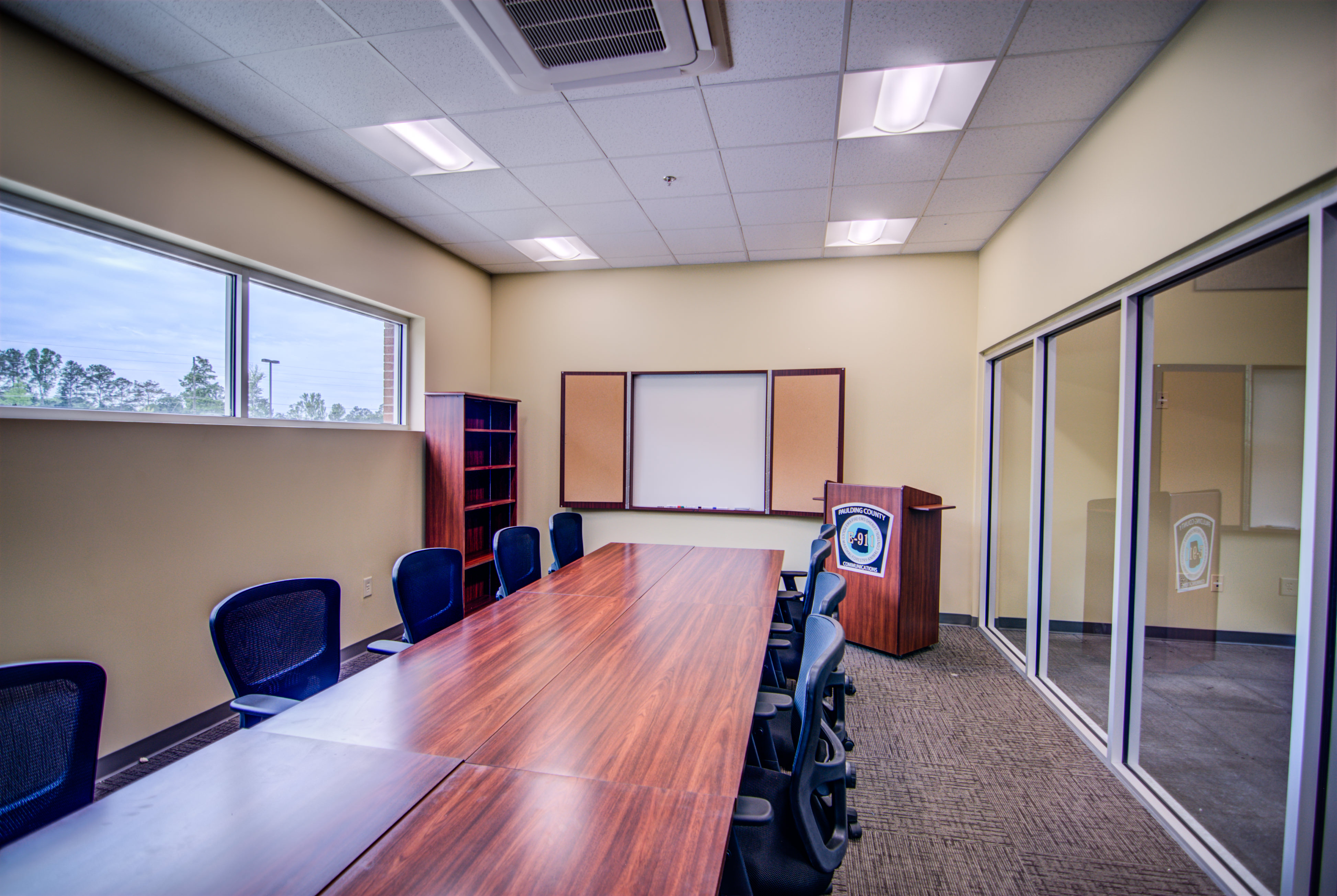Paulding County 911 E Operations Center | Conference Room | Dallas, GA | Cooper & Company General Contractors
