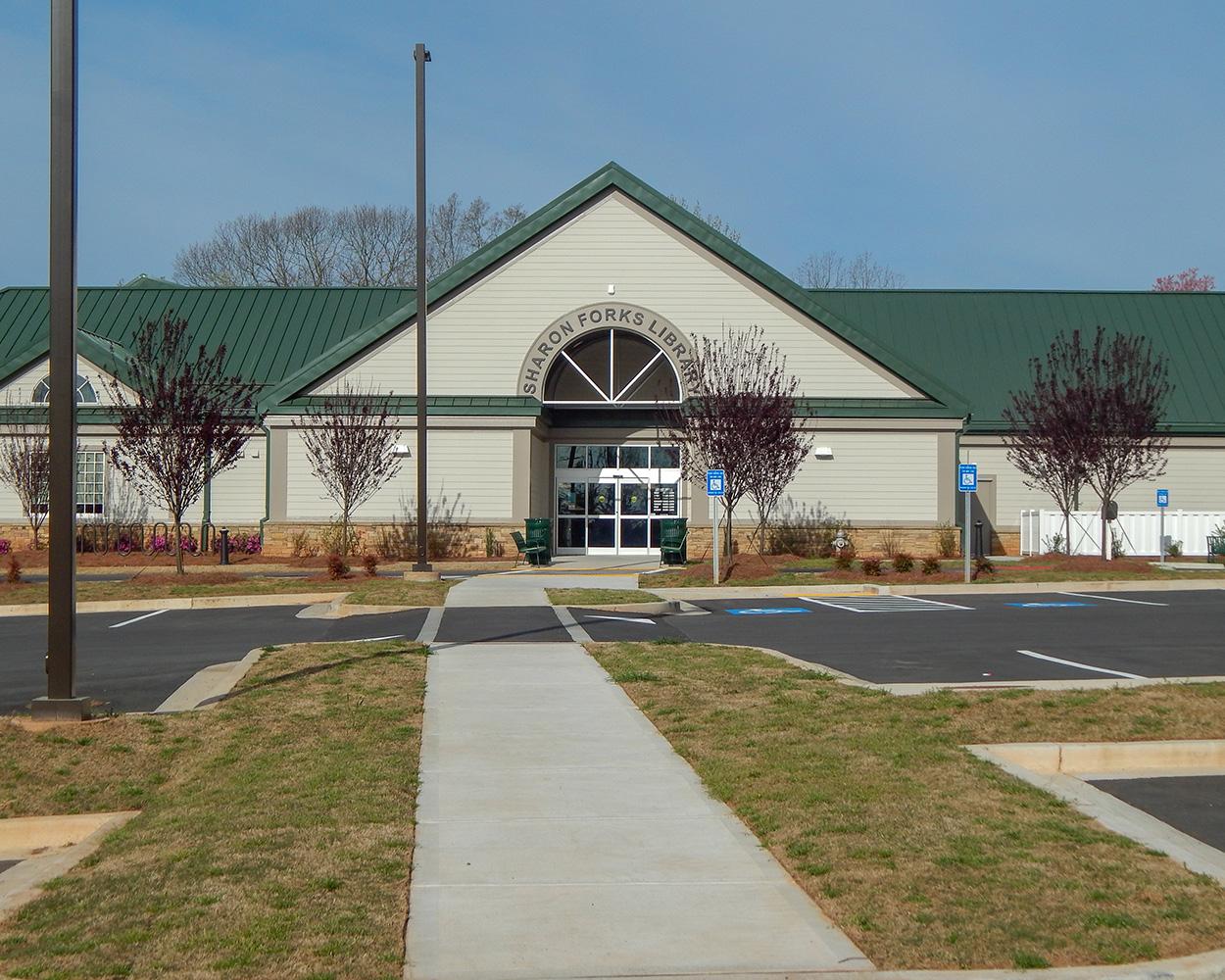 Sharon Forks Library Renovation   Cumming, GA