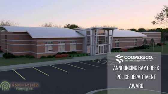 Bay Creek Police Precinct Rendering   Cooper & Company General Contractors   Loganville, GA