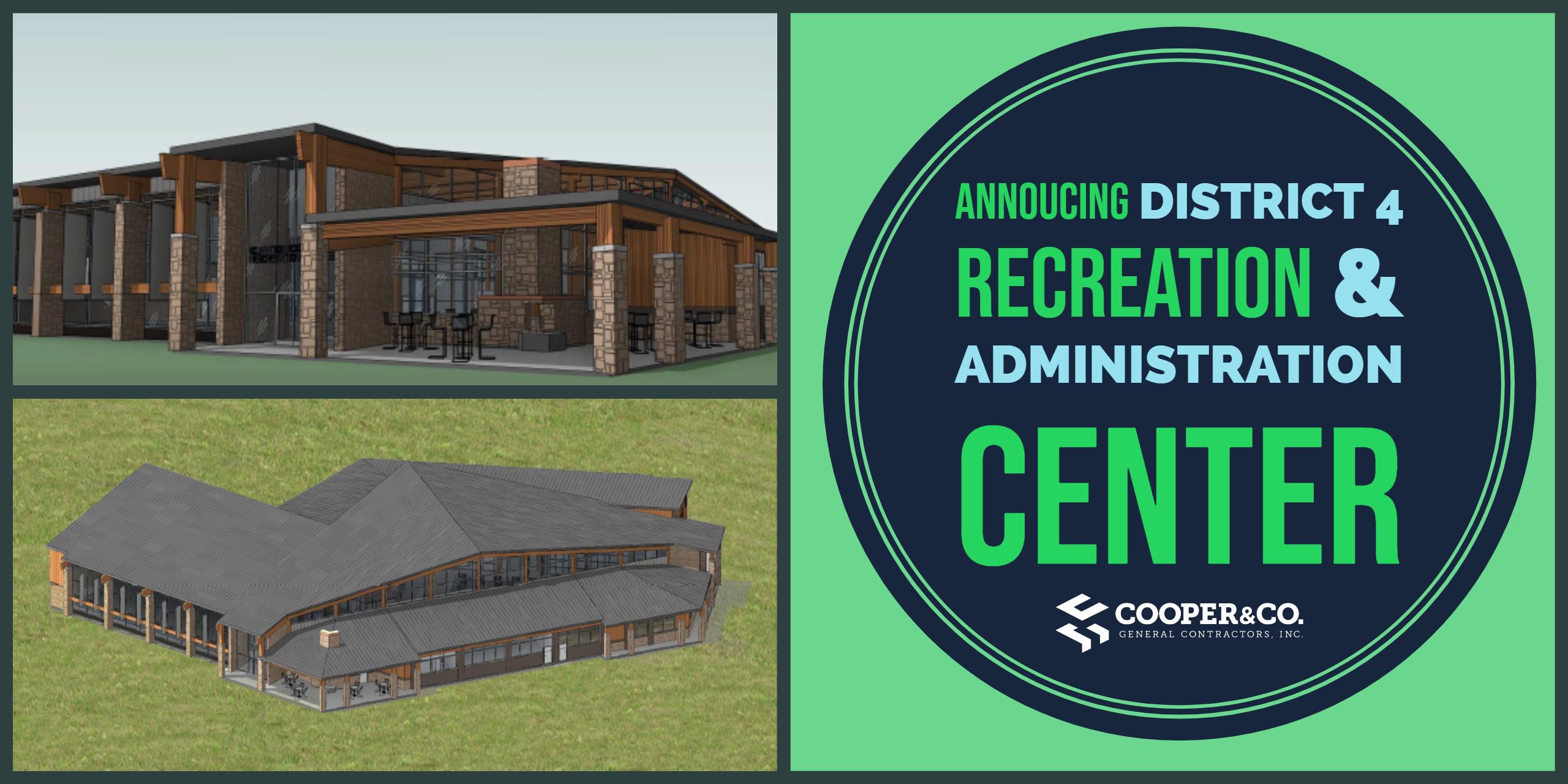 Clayton County District 4 Recreation & Administrative Center   Cooper & Company General Contractors   Jonesboro, GA