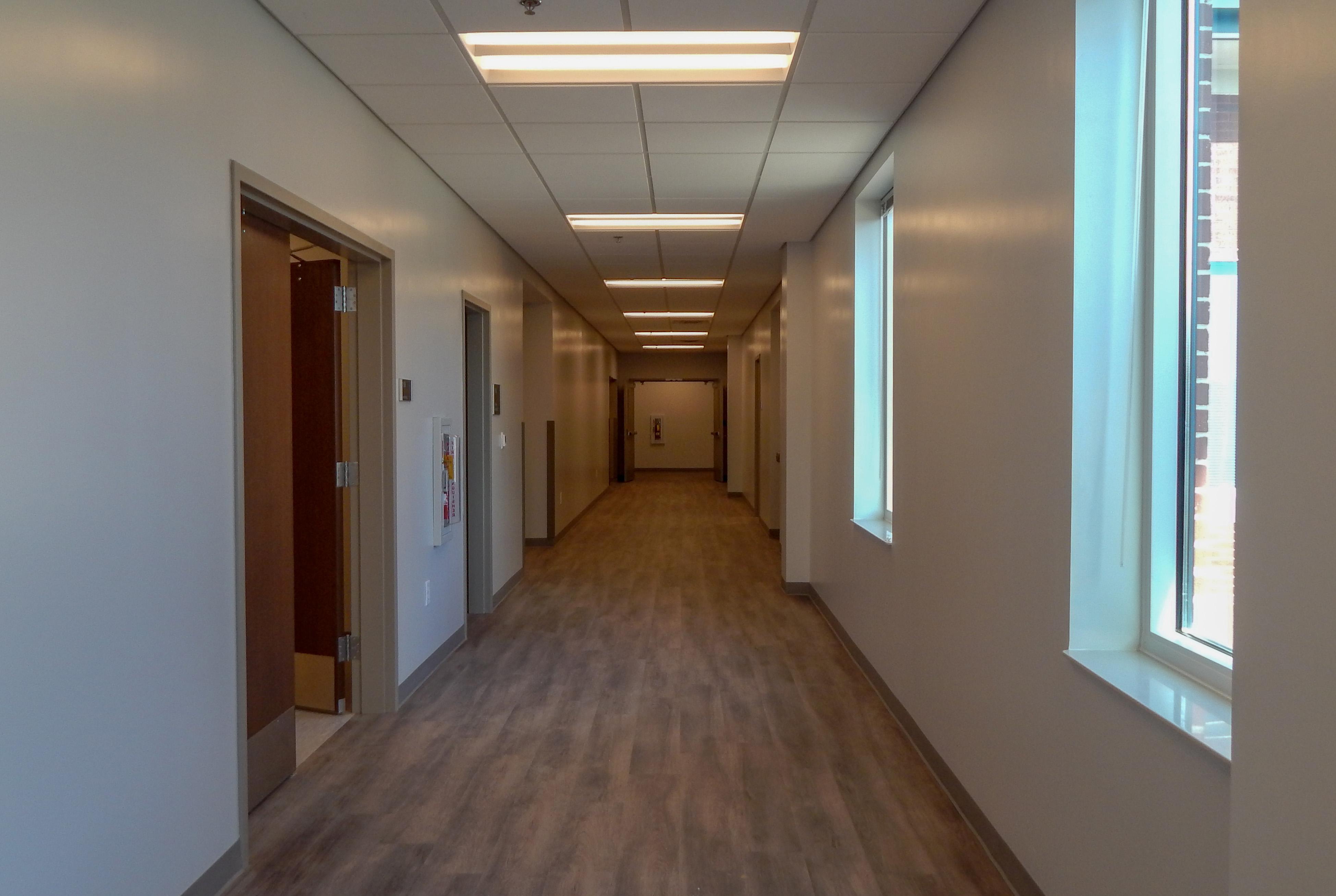 Exterior Hallways for GDOT District 6 Admin | Cooper & Company