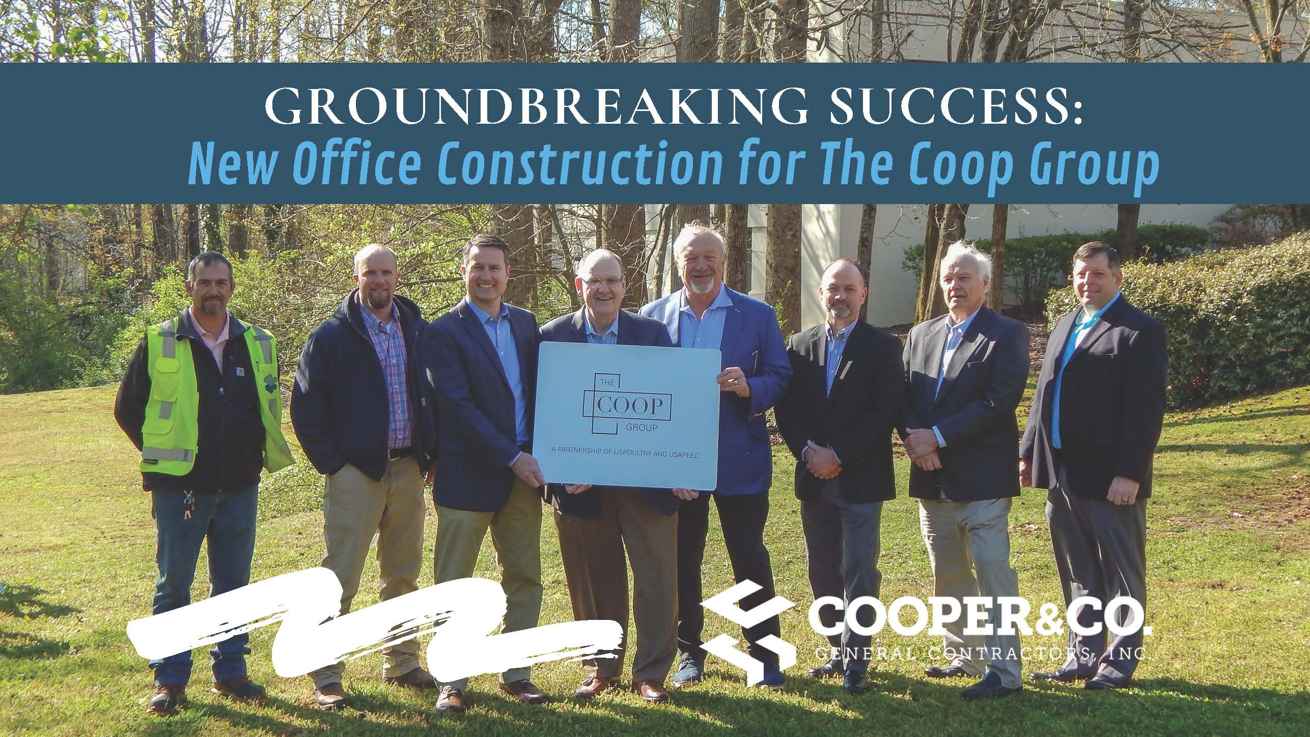 Cooper & Company Breaks Ground on New Project with USPOULTRY and USAPEEC
