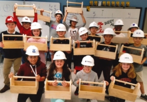 Construction Club Students | Fulton County Schools
