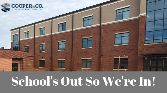 School's Out So We're In | Cooper & Company