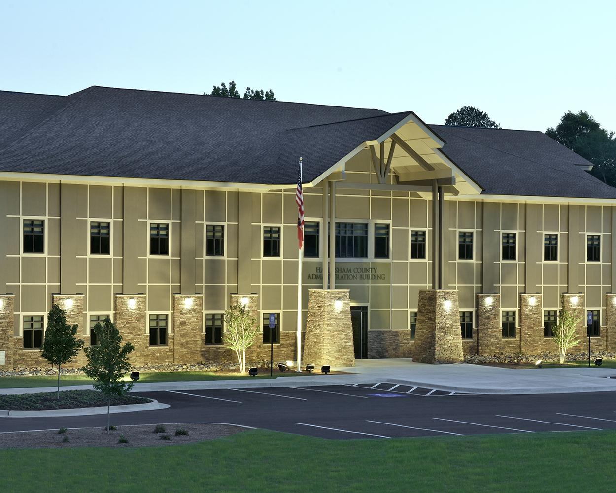 Habersham County Administration Building Clarkesville, GA | Cooper & Company General Contractors